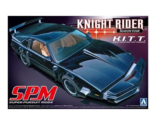 Aoshima 1/24 Knight Rider 2000 K.I.T.T. SPM, Season Four