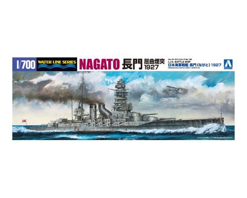 Aoshima 1/700 I.J.N. BATTLE SHIP NAGATO 1927