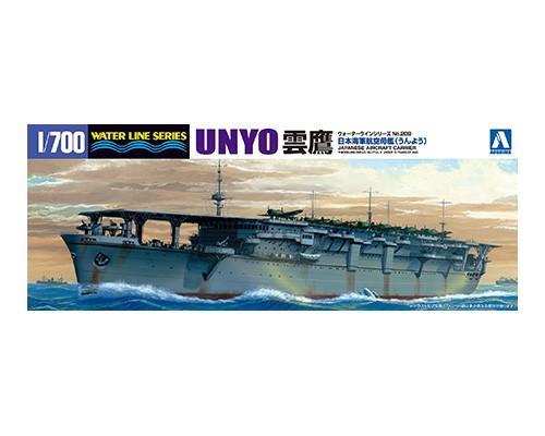 Aoshima 1/700 I.J.N. AIRCRAFT CARRIER UNYO