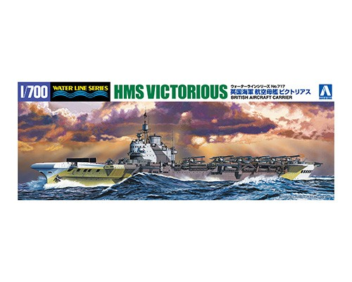 Aoshima 1/700 BRITISH AIRCRAFT CARRIER HMS VICTORIOUS