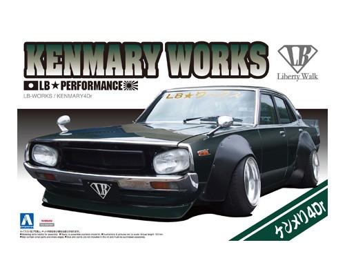 Aoshima 1/24 LB WORKS KENMARY4Dr