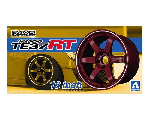 Aoshima 1/24 VOLK RACING TE37RT 18inch