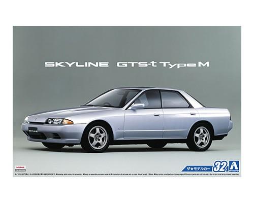 Aoshima 1/24 NISSAN HCR32 SKYLINE GTS-t typeM '89