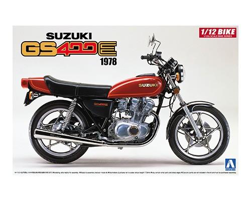 Aoshima 1/12 SUZUKI GS400E