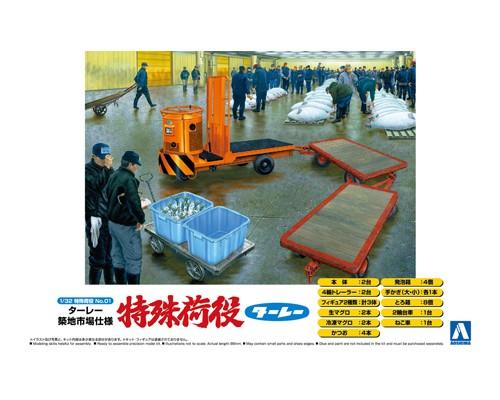 Aoshima 1/32 TURREY TSUKIJI MARKET Ver.