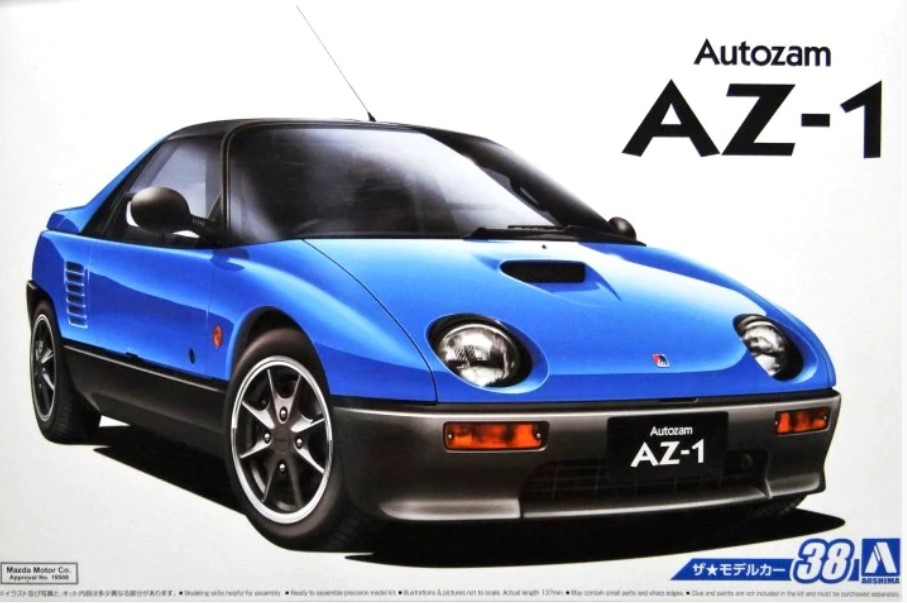 Aoshima 1/24 MAZDA PG6SA AZ-1 '92