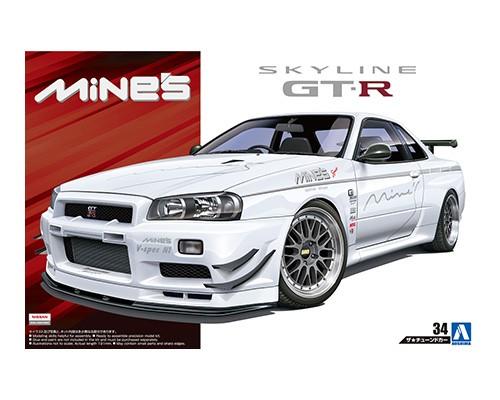 Aoshima 1/24 Mine's BNR34SKYLINE GT-R '02 ?NISSAN?