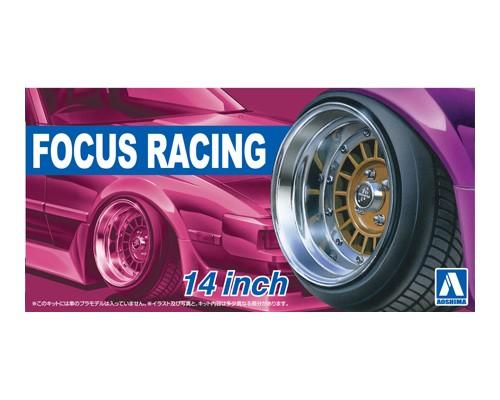 Aoshima 1/24 FOCUS RACING 14inch
