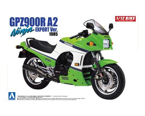 Aoshima 1/12 Kawasaki GPZ900R NINJA A2