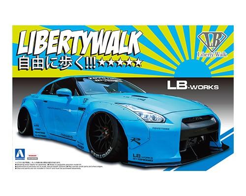 Aoshima 1/24 LB_WORKS R35 GT-R Ver.1