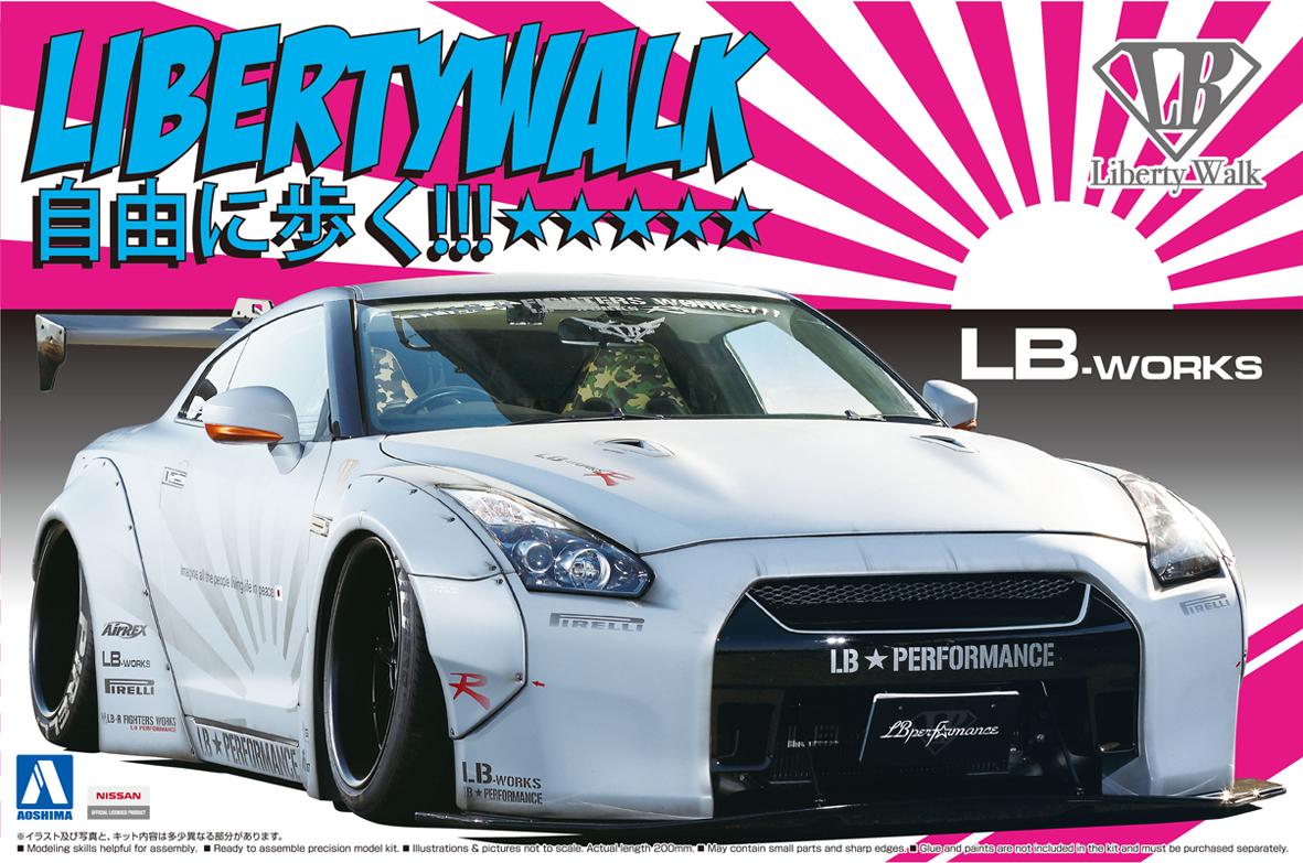 Aoshima 1/24 LB★WORKS R35 GT-R Ver.2