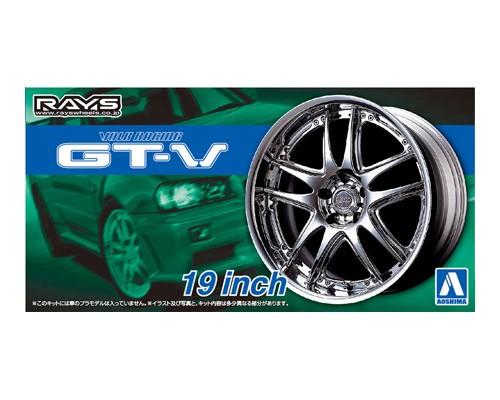 Aoshima 1/24 VOLK RACING GT-V 19inch