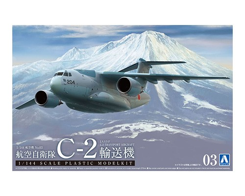 Aoshima 1/144 J.A.S.D.F TRANSPORTER C-2