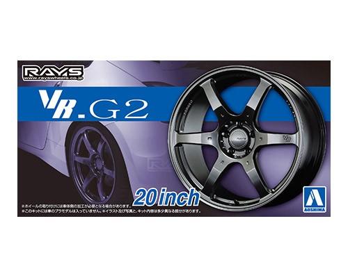 Aoshima 1/24 VOLK RACING VR.G2 20inch