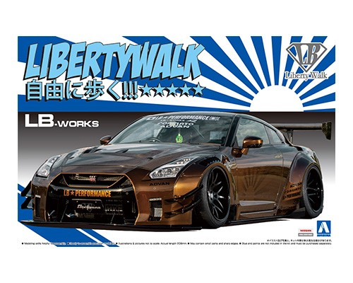 Aoshima 1/24 LB_WORKS R35 GT-R type 2 Ver.1