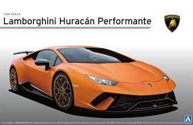 Aoshima 1/24 Lamborghini Huracan performante