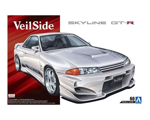 Aoshima 1/24 VeilSide COMBAT MODEL BNR32 SKYLINE GT-R '90 (Nissan)