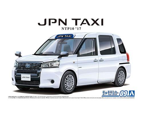 Aoshima 1/24 TOYOTA NTP10 JPN TAXI '17 SUPER WHITE _