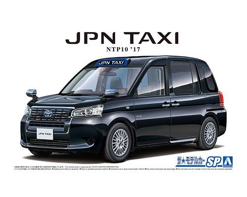 Aoshima 1/24 TOYOTA NTP10 JPN TAXI '17 BLACK