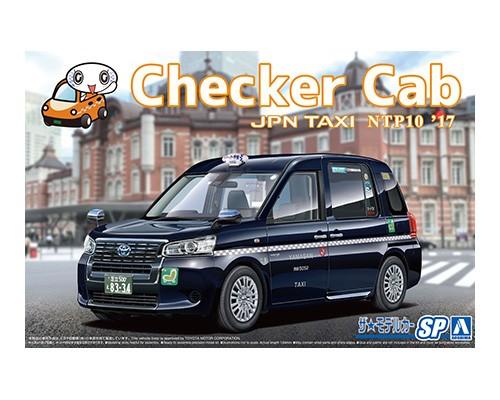 Aoshima 1/24 TOYOTA NTP10 JPN TAXI '17 CHECKER CAB