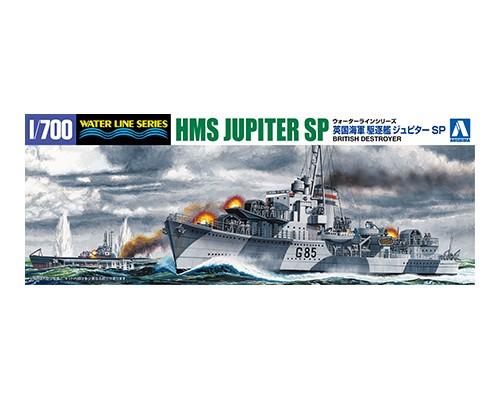 Aoshima 1/700 HMS DESTROYER JUPITER SP