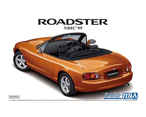 Aoshima 1/24 MAZDA NB8C ROADSTER RS '99