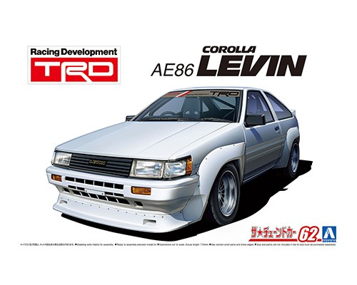 Aoshima 1/24 TRD AE86 COROLLA LEVIN '83_TOYOTA_