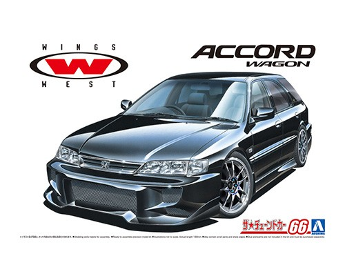 Aoshima 1/24 WINGSWEST CF2 ACCORD WAGON '96(Honda)