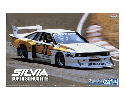 Aoshima 1/24 NISSAN KS110 SILVIA SUPER SILHOUETTE '82