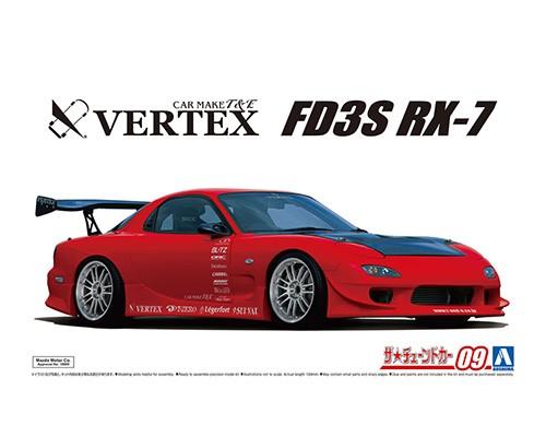 Aoshima 1/24 VERTEX FD3S RX-7 '99 _MAZDA__