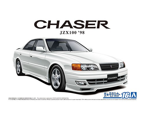 Aoshima 1/24 TOYOTA JZX100 CHASER TOURER V '98