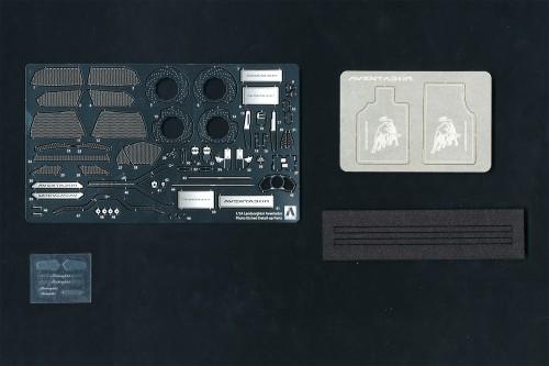 Aoshima 1/24 LAMBORGHINI AVENTADOR LP700-4 Common Detail-Up Parts