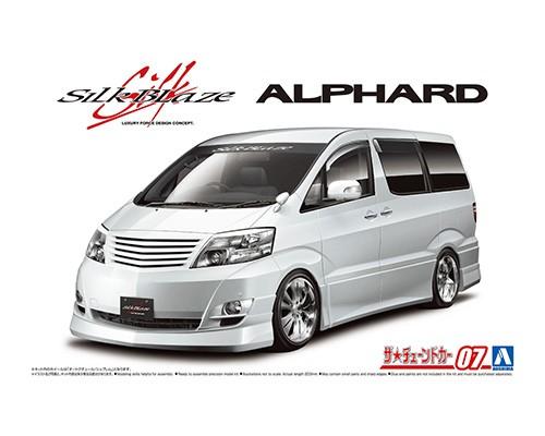 Aoshima 1/24 SILK BLAZE MNH/ANH10/15W ALPHARD '05 (TOYOTA)