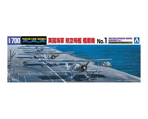 Aoshima 1/700 BRITISH CARRIER-BORNE AIRCRAFT