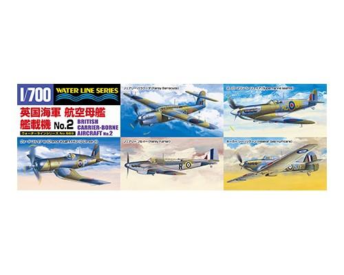 Aoshima 1/700 BRITISH CARRIER-BORNE AIRCRAFT No.2