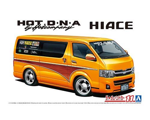 Aoshima 1/24 Hot Company TRH200V Hiace 12 (Toyota)