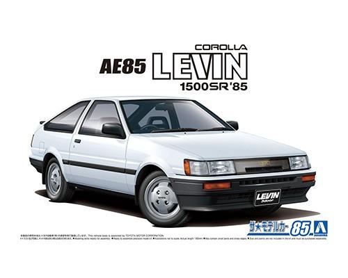 Aoshima 1/24 Toyota AE85 Corolla Levin 1500SR 85