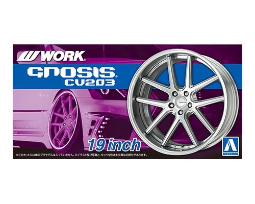 Aoshima 1/24 Work Gnosis CV203 19 Inch Wheel parts
