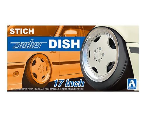 Aoshima 1/24 Stich Zauber Dish 17 Inch Wheel parts