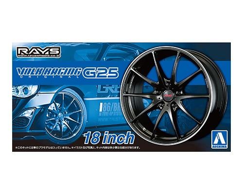 Aoshima 1/24 Volk Racing G25 18 Inch Wheel parts