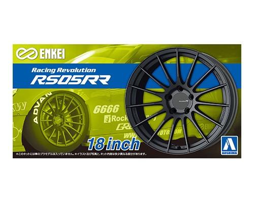 Aoshima 1/24 Enkei RS05RR 18 Inch Wheel parts