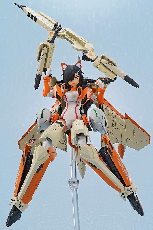 Aoshima VFG Macross Delta VF-31D Skuld SP Action Figure Kit, Non Scale