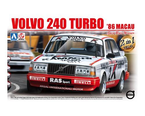 Aoshima Beemax 1/24 VOLVO 240 TURBO '86 MACAU Guia Race Winner Ver.