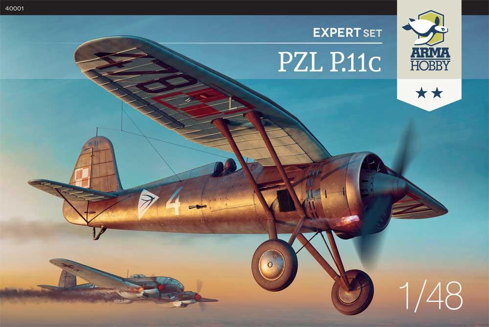 Arma Hobby 1/48 PZL P.11c Aircraft Expert Set