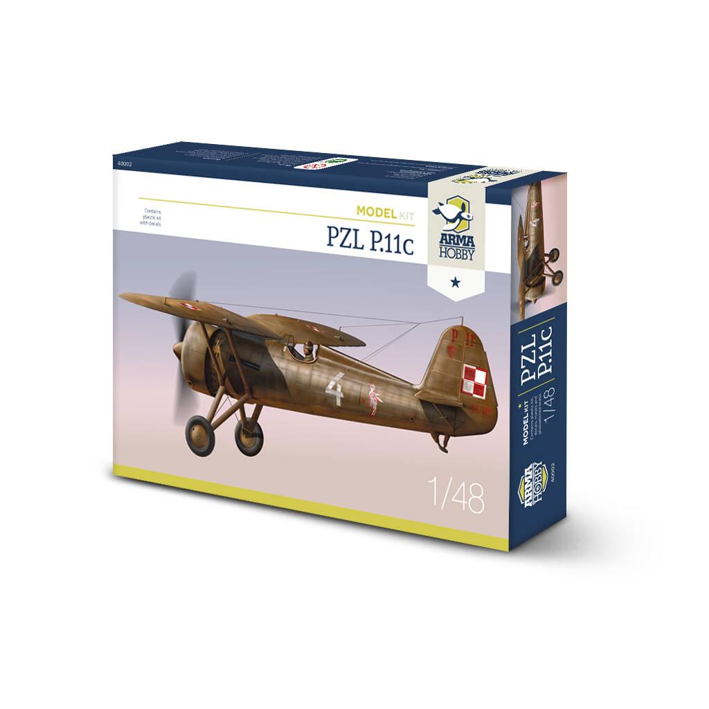 Arma Hobby 1/48 PZL P.11c Fighter Aeroplane Kit