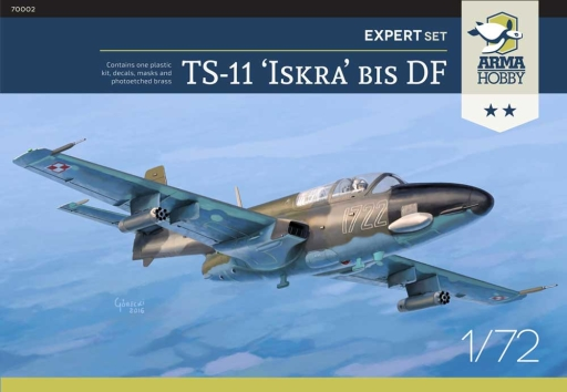 "Arma Hobby TS-11 Iskra Expert set ""Camo"""