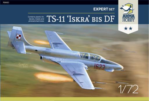 "Arma Hobby TS-11 Iskra Expert set ""Silver"""