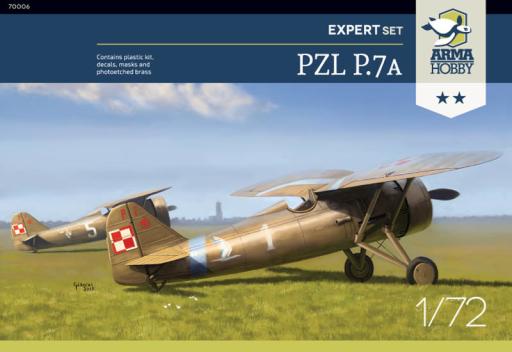 Arma Hobby PZL P.7a Expert Set