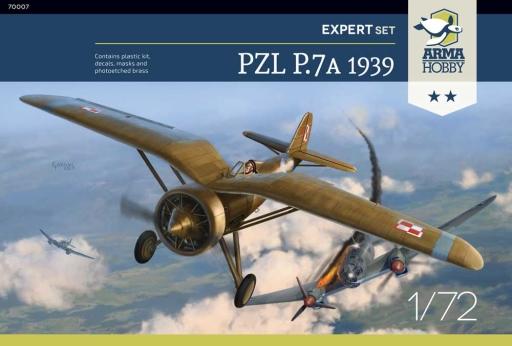 Arma Hobby PZL P.7a Expert Set 1939