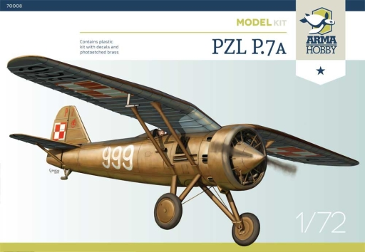 Arma Hobby PZL P.7a Junior Set